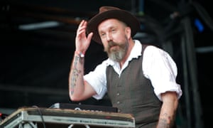 Andrew Weatherall during The Apple Cart Festival 2011 at Victoria Park.
