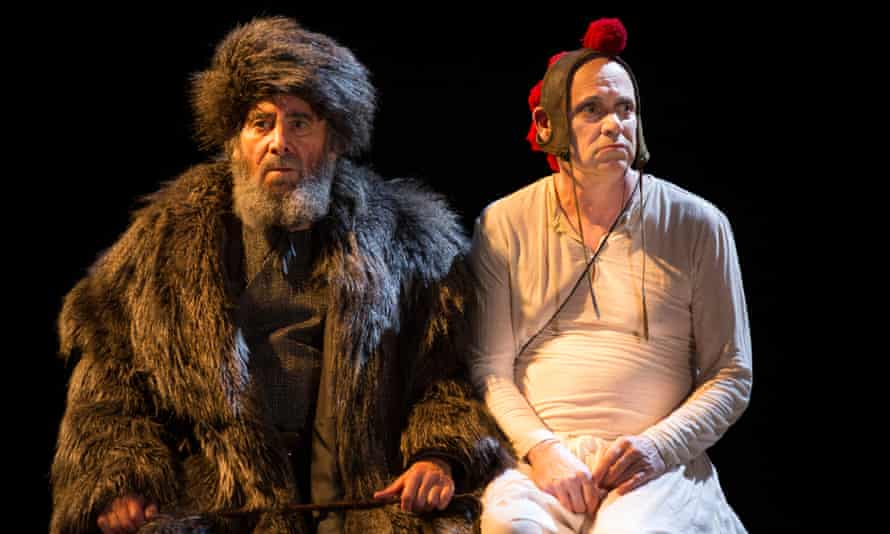 Strength in depth … Antony Sher as King Lear and Graham Turner as Fool.