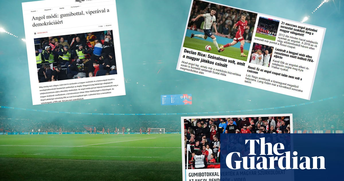 Nothing to see: how pro-government Hungarian media reported Wembley violence