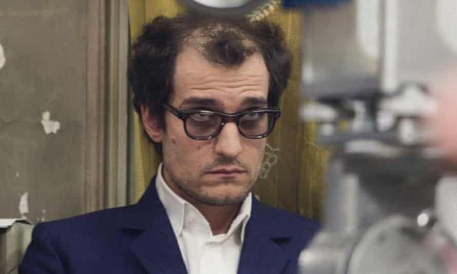 Not so vague ... Louis Garrel as Jean-Luc Godard in Redoubtable.