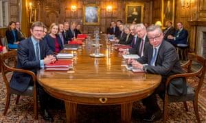 Members of Brexit 'war cabinet'