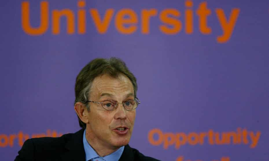 Tony Blair pictured in 2004.