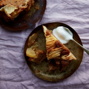 Anna Jones' easy apple and double ginger cake.