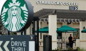 A Starbucks in Oceanside, California.