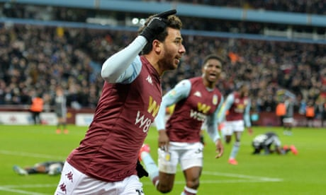 Trézéguet sinks Leicester at the last to put Aston Villa in Carabao Cup final