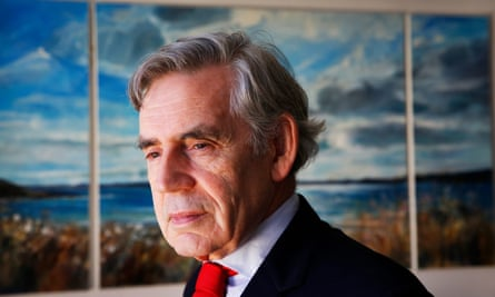 'Gordon Brown's type of dour prediction often emerges when equity markets are experiencing major bull runs.'
