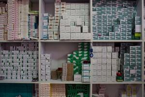 Drug store cupboard