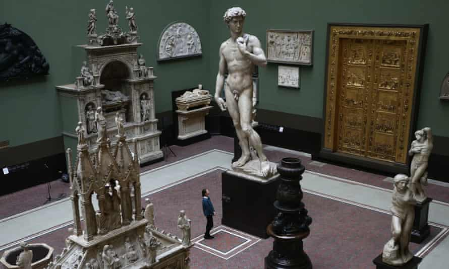 'A haunted gallery of Europe's cultural grandeur and Britain's obsession with it' … the V&A's cast courts.