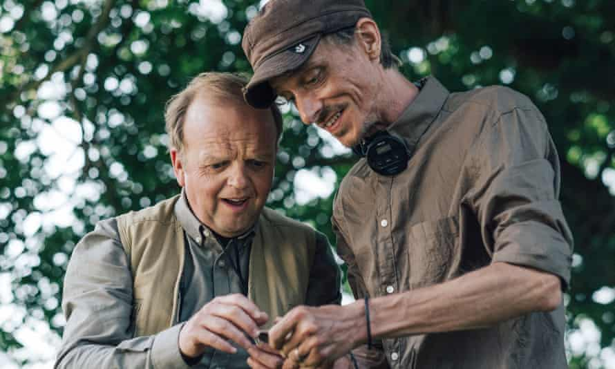 The image of metal detectorists as passionate and well-meaning enthusiasts, as portrayed in the BBC's popular Detectorists series.