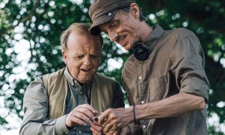 Toby Jones and Mackenzie Crook in the BBC series Detectorists