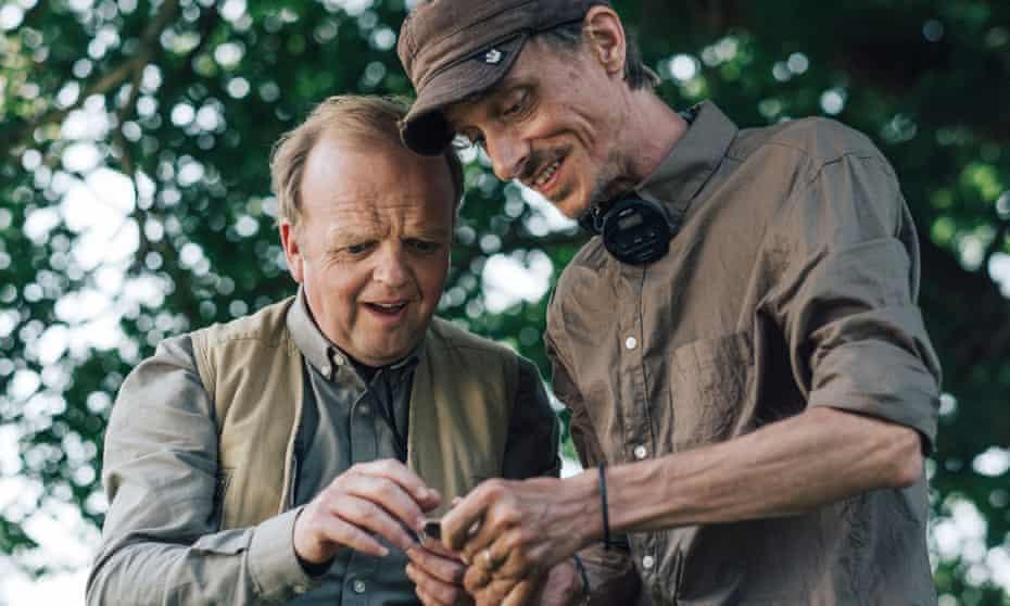 Gold diggers … Toby Jones and Mackenzie Crook in Detectorists.