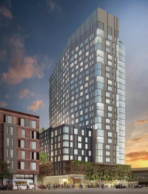 Yimby activists helped push through a 25-storey apartment and retail/restaurant development in Oakland this year despite local opposition.