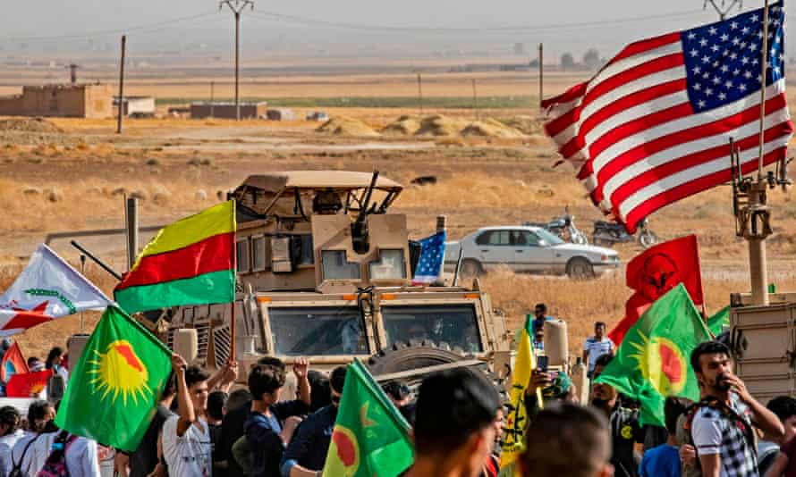 """'When they learned about Trump's policy reversal, some Kurds reportedly called Americans """"traitors"""".'"""