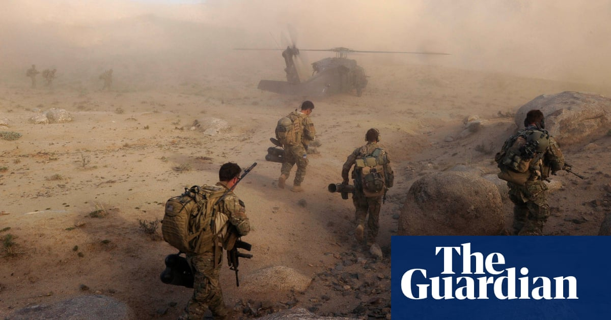 How the 'good war' went bad: elite soldiers from Australia, UK and US face a reckoning