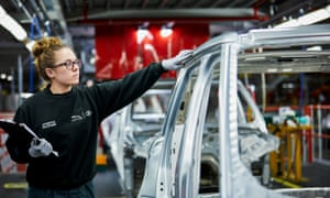 Jaguar Land Rover's factory in Solihull has 9,000 workers.