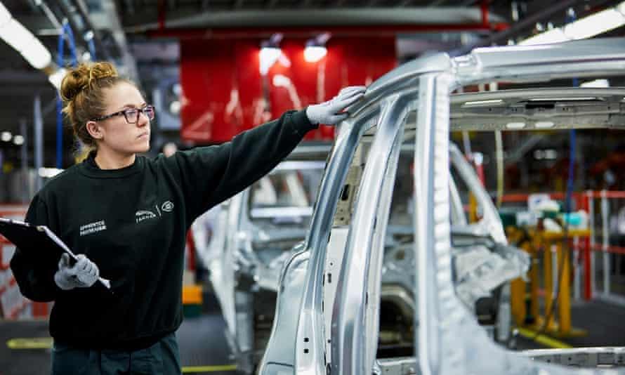 Jaguar Land Rover apprentice Molly Cartwright.