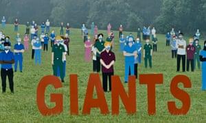 Headington, UK: Standing with Giants created by Dan Barton