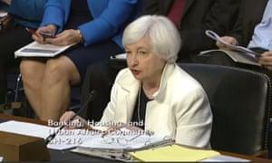 Janet Yellen testimony at Congress