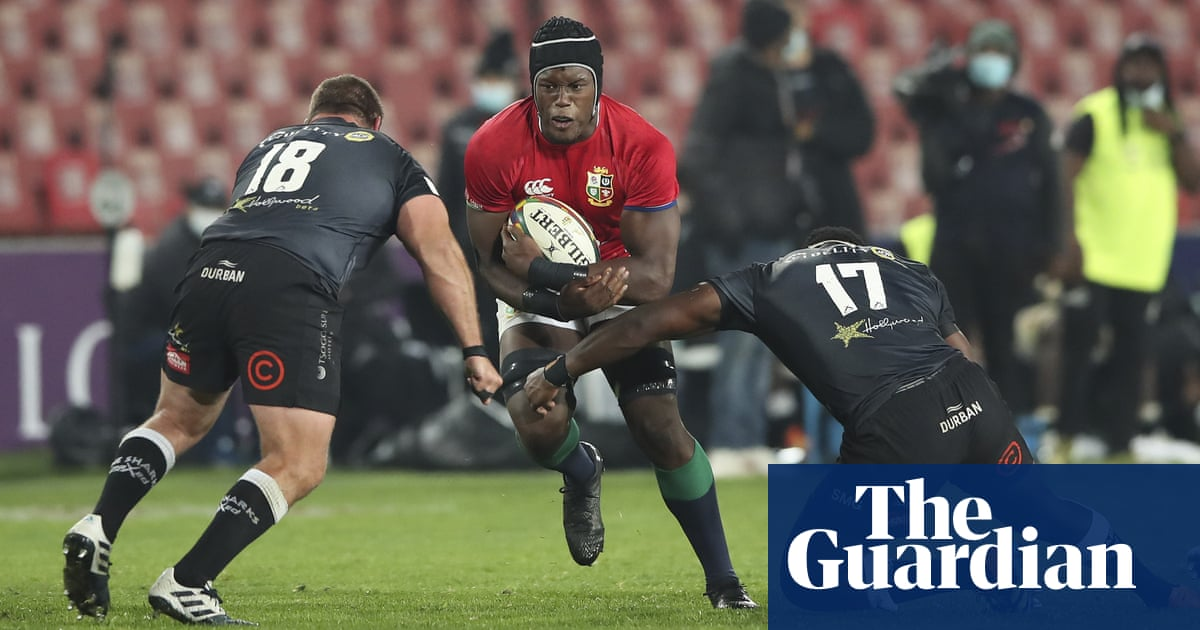 Lions to play Sharks twice in four days as Covid-19 wreaks havoc on tour