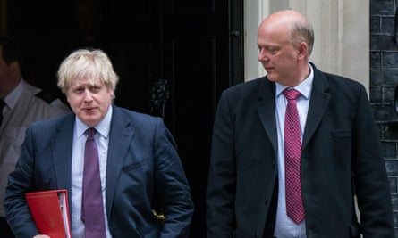 Boris Johnson's hopes of Chris Grayling heading the powerful intelligence and security committee was ambushed by MPs.