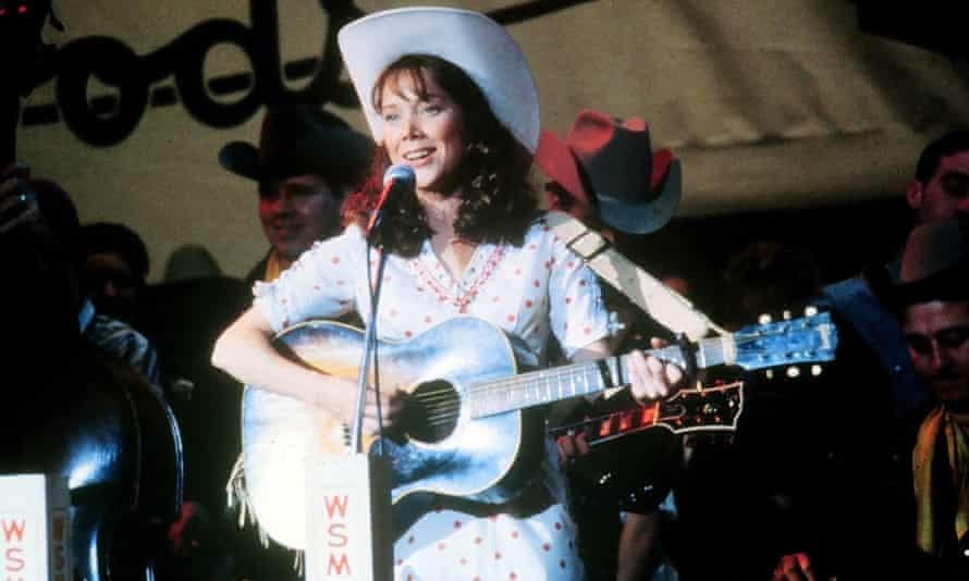 Sissy Spacek as Loretta Lynn in Coal Miner's Daughter.
