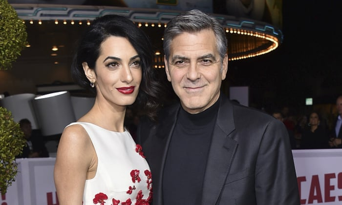 George And Amal Clooney To Help Fund Syrian Refugee Schools In Lebanon Amal Clooney The Guardian
