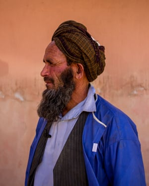 A family member of one of the patients waits for news of his loved one