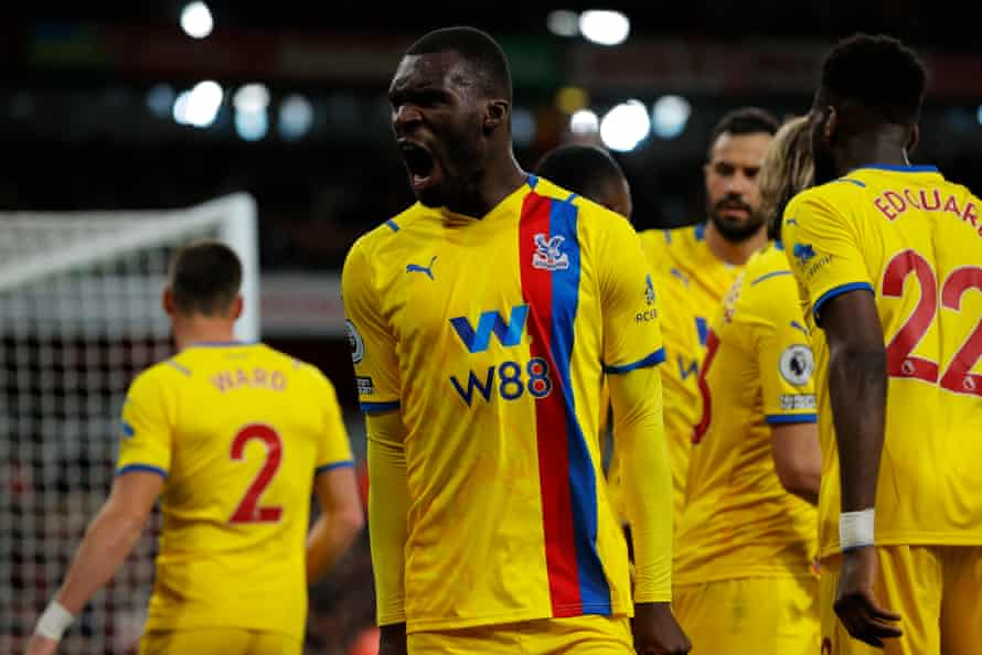Lacazette saves Arsenal with last gasp equalizer to deny Vieira's Crystal Palace |  Premier League