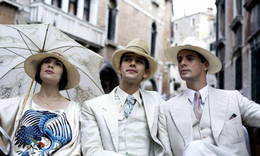 As Sebastian Flyte in Brideshead Revisited.