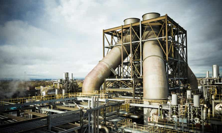The Teesside gas-fired power station