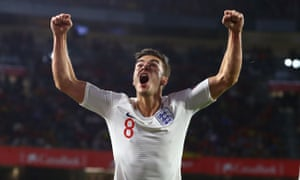 Harry Winks won his second cap for England last week in their 3-2 win in Seville.