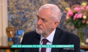 Jeremy Corbyn talks to Richard and Judy