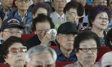 North Korean refugees at a ceremony to mark the forthcoming Chuseok holiday. Unlike most people, they cannot visit their relatives.