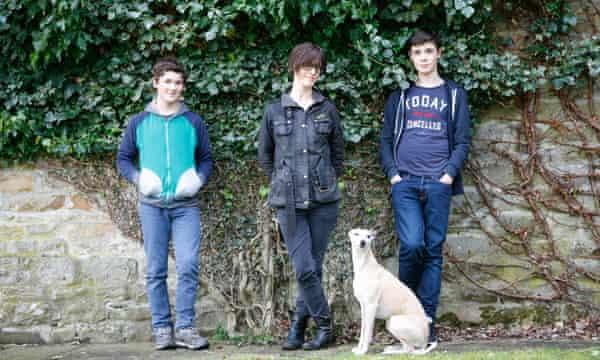 Emma, Theo, Louis and Oscar.