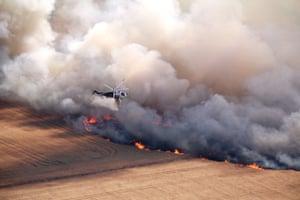 A massive smoke plume at the East Gippsland fires