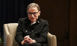Justice Ruth Bader Ginsberg missed oral arguments today for the second time since she took office in 1993.