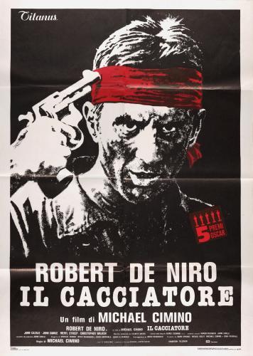 The Italian poster for The Deer Hunter