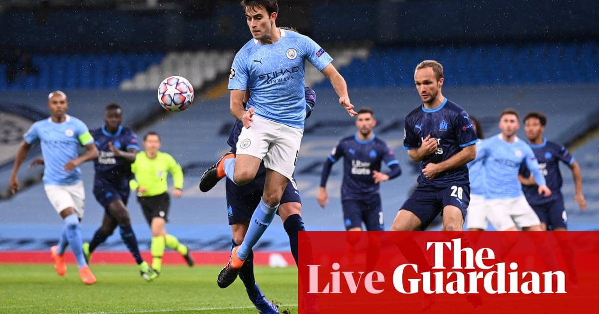 Manchester City v Marseille: Champions League – live!