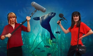 'Funny and clever': Blue Planet II podcast presenters Emily Knight and Becky Ripley