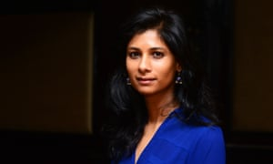 Gita Gopinath, chief economist at the IMF