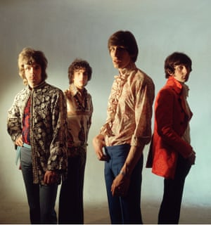 Pink Floyd in 1967. Left to right: Richard Wright, Syd Barrett, Roger Waters and Nick Mason.