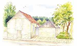 Artist's impression of the restored chapel in Tolpuddle, Dorset