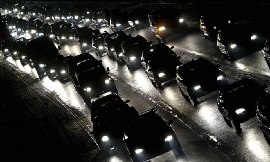 Cars on Germany's A3 Autobahn. Researchers gathered information on 41,000 people from Norway, Sweden, Denmark, Germany and Spain.