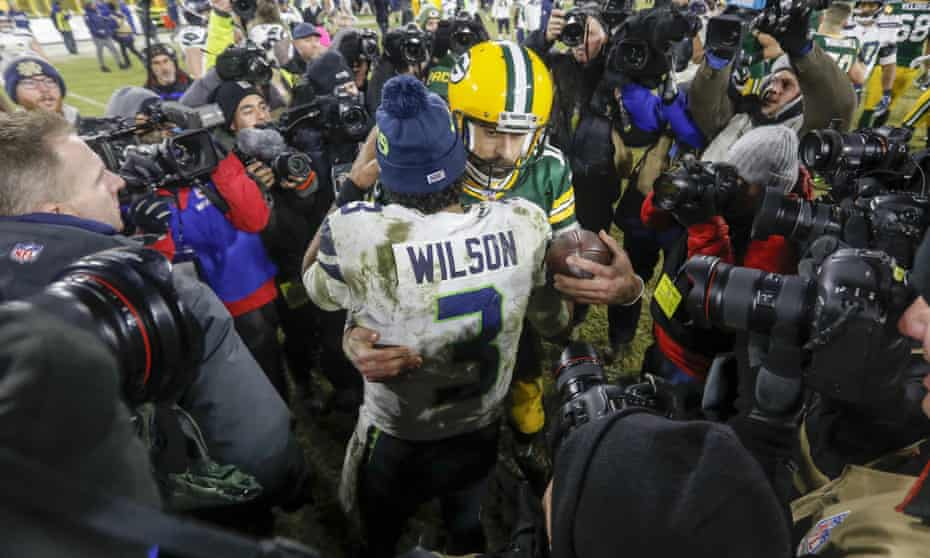 Aaron Rodgers and Russell Wilson have both had troubled offseasons with their teams