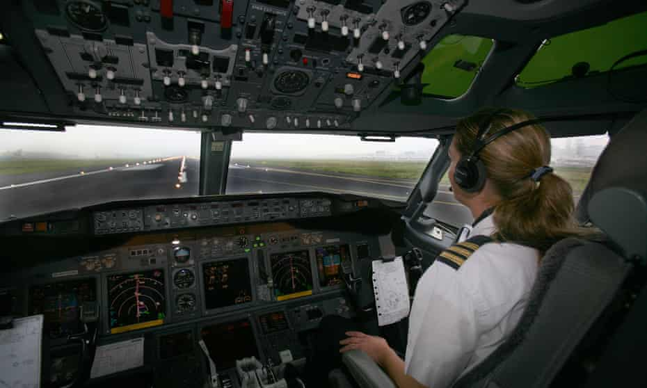 In for the long haul ... some airlines are starting to attract more women into the profession.
