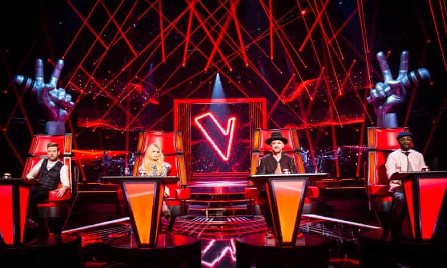 The Voice with Ricky Wilson, Paloma Faith, Boy George and Will.i.am