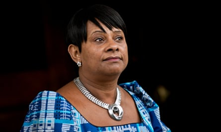 Doreen Lawrence in 2013, at the 20th anniversary memorial for her son, Stephen.