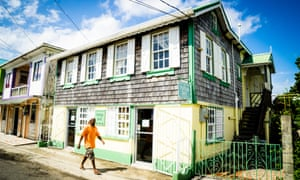 A traditional wooden house, Hillsborough, Carriacou.