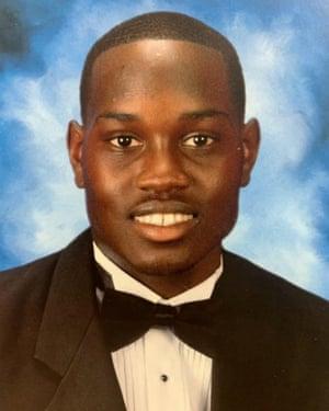Ahmaud Arbery, who was shot and killed in Brunswick, Georgia.