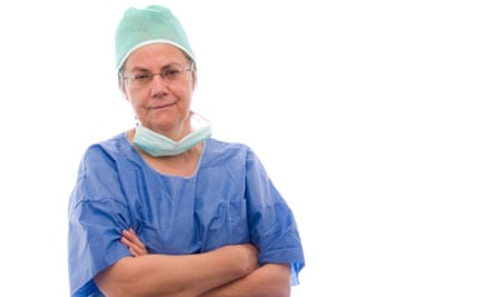 Portrait of female middle aged doctor